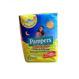 Pannolini Pampers Sole e Luna Tg. N.6 extra large Peso 15/30 kg. (pz.14)