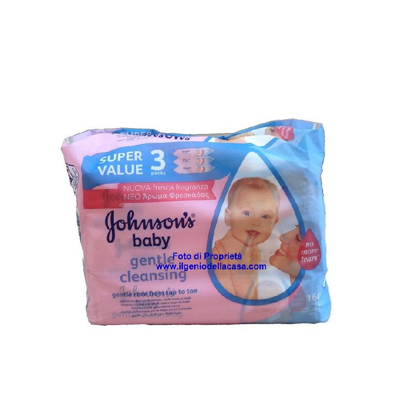 Salviettine johnson s baby detergenti triplo pacco for Costo della casa di 900 piedi quadrati