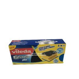 Spugna per la pulizia Vileda Glitzi Plus (pz.3)