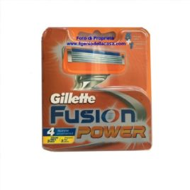 Lamette Ricambio Gillette Fusion Power  (pz 4)