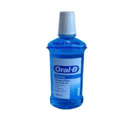 Colluttorio Oral B Fluorinse protezione Anti carie contenuto 500ml.