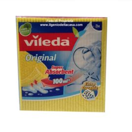 Panno per la pulizia Vileda Panno Spugna Original (pz.3)