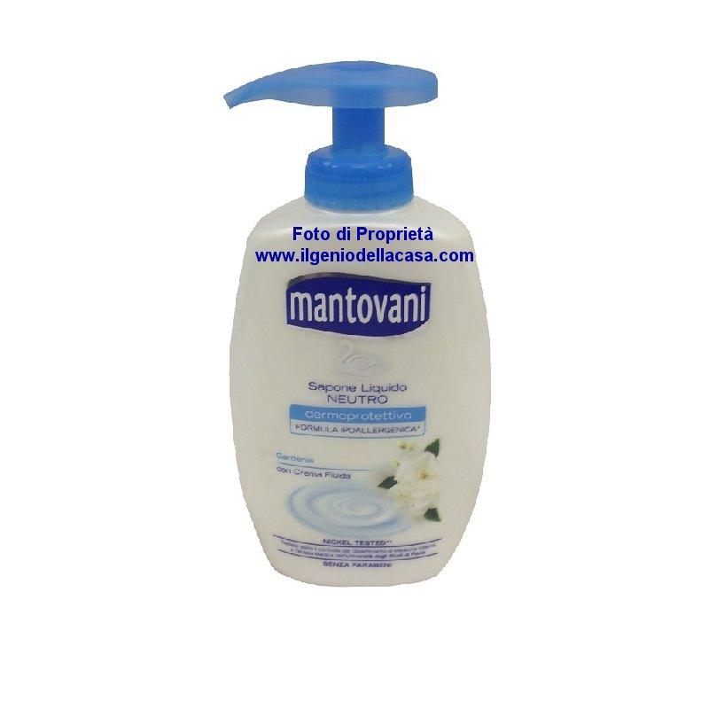 Sapone liquido neutro mantovani gardenia contenuto 300ml il genio della casa - Sapone neutro per pulizie casa ...