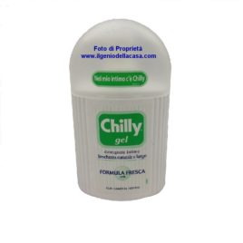 Detergente Intimo Chilly Gel Formula fresca PH 5 contenuto 200ml
