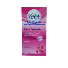 Strisce Depilatorie Veet Hair Minimizer pelli normali (pz.16)