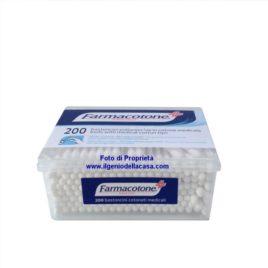 Bastoncini cotonati Farmacotone medicali (pz.200)