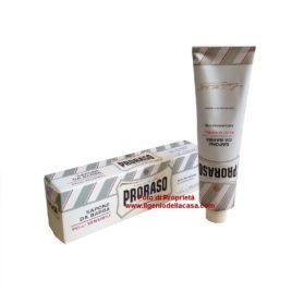 Sapone da barba Proraso Pelli sensibili Tubo contenuto 150ml