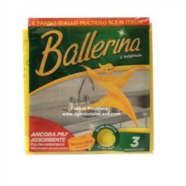 Panno per la pulizia Ballerina giallo multiuso (pz.3)