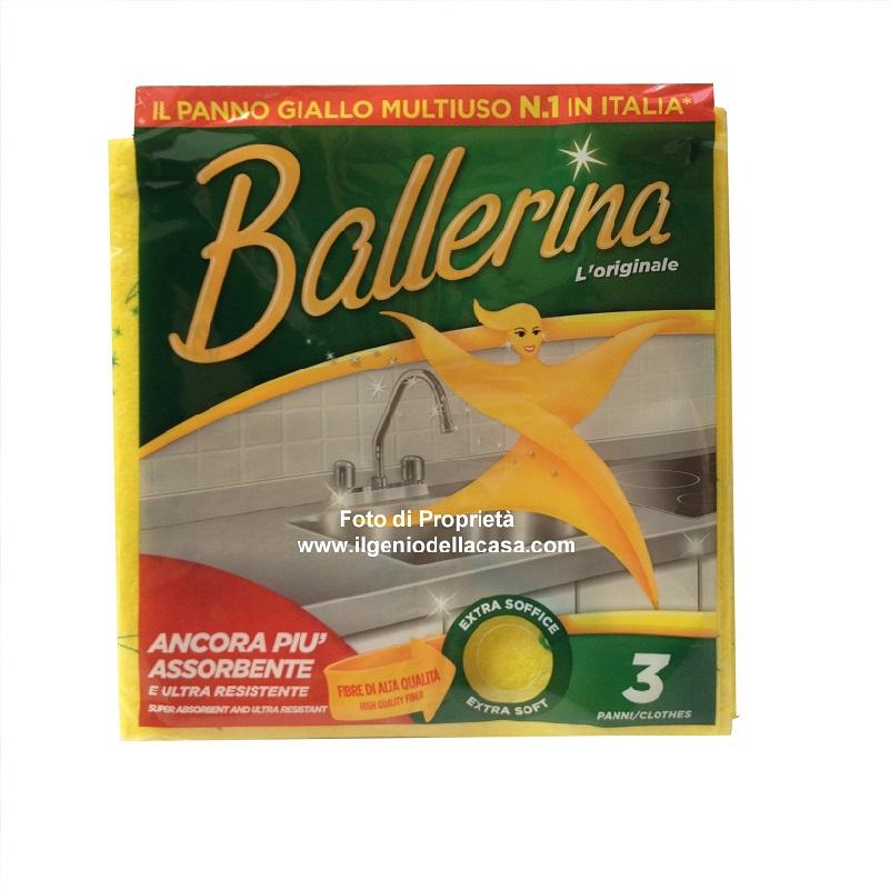 Panno per la pulizia ballerina giallo multiuso pz 3 il - Costo allarme volumetrico casa ...