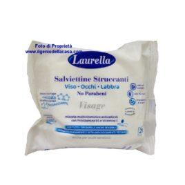 Salviettine Struccanti Laurella Visage viso occhi labbra (pz.20)
