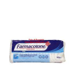 Cotone idrofilo per uso medicale Farmacotone contenuto 100g