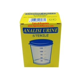 Contenitore Analisi Urine sterile capacità 125ml (pz.1)