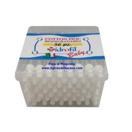 Bastoncini cotonati Idrofil baby Cotton fioc (pz.56)